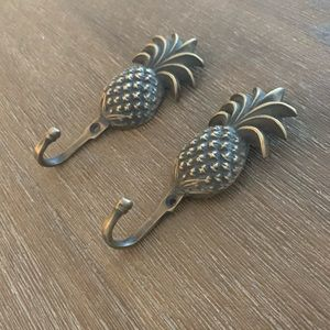 Other - Brass Pineapple Hooks
